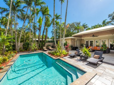 Resort Style 3 BR/3 BA Home in South Coconut Grove