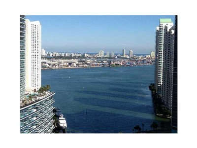 Live next to the highly anticipated Brickell City Centre!  2 bed/2bth CORNER UNIT with DIRECT bay views.