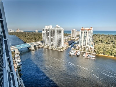 GORGEOUS High floor panoramic DIRECT OCEAN, Park, & Intracoastal Views!!