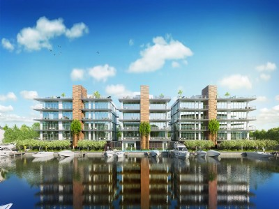 NEW CONSTRUCTION - PENTHOUSE & DOCKAGE INCLUDED
