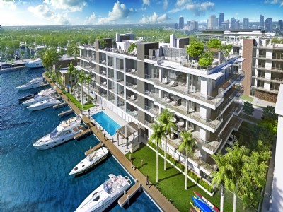 NEW CONTEMPORARY CONDO - DOCKAGE INCLUDED