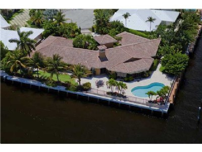 INTRACOASTAL POINT LOT / 236 FEET OF DEEP WATERFRONT