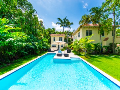 Grande maison de famille à Coconut Grove, Miami