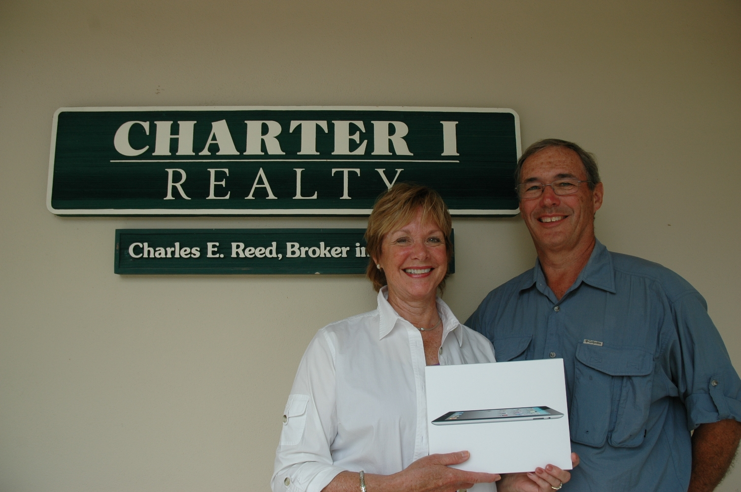Margaret Sippy Wins the iPad2